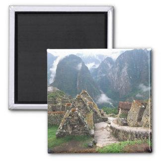 南アメリカ、ペルー、Machu Picchu マグネット