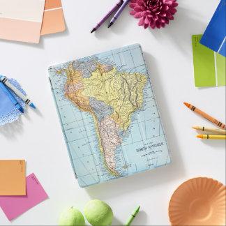 南アメリカ: 地図、c1890 iPadスマートカバー
