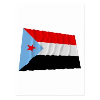 南イエメンの振る旗(1967-1990年) ポストカード