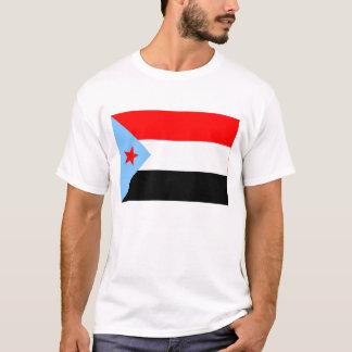 南イエメンの旗(1967-1990年) Tシャツ