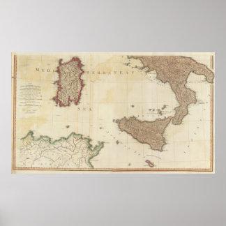 南イタリア ポスター