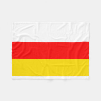 南オセチアの国民の世界の旗 フリースブランケット