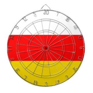 南オセチアの旗 ダーツボード