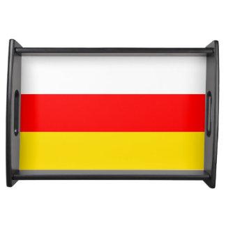南オセチアの旗 トレー