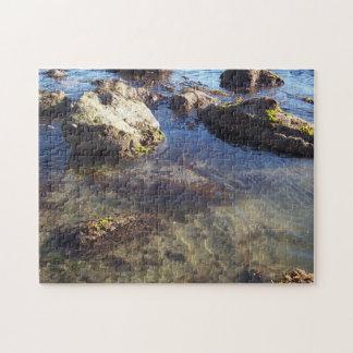 南カリフォルニアは0020ジグソーパズルを浜に引き上げます ジグソーパズル