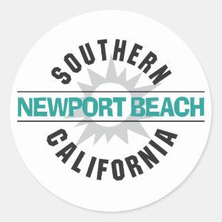 南カリフォルニア-ニューポートビーチ ラウンドシール