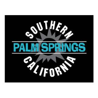 南カリフォルニア-パーム・スプリングス ポストカード