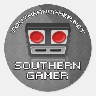 南ゲーマーのステッカー ラウンドシール