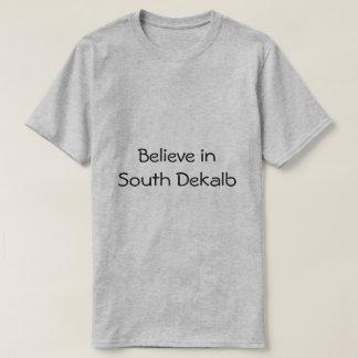 南コミュニティ家族の福利で信じて下さい Tシャツ