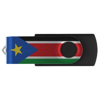 南スーダンUSBのフラッシュドライブの旗 USBフラッシュドライブ