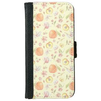 南チャームのモモマグノリアの電話財布 iPhone 6/6S ウォレットケース