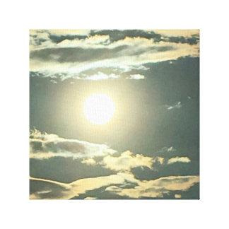 南テキサス州の秋の日没 キャンバスプリント