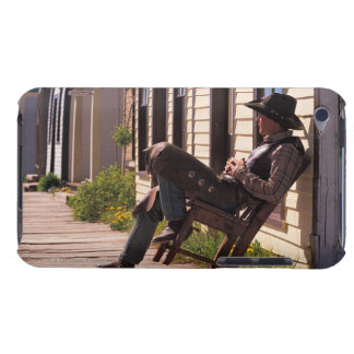 南パークシティの遊歩道の椅子のカウボーイ、 Case-Mate iPod TOUCH ケース