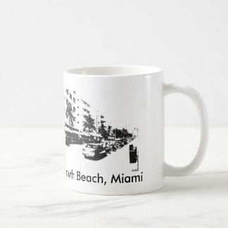南ビーチのマイアミのコーヒー・マグ コーヒーマグカップ