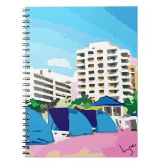 南ビーチ、マイアミ、フロリダ ノートブック
