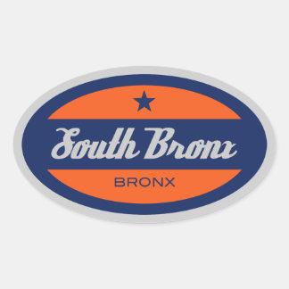 南ブロンクス 楕円形シール