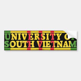 南ベトナムのステッカーの大学 バンパーステッカー