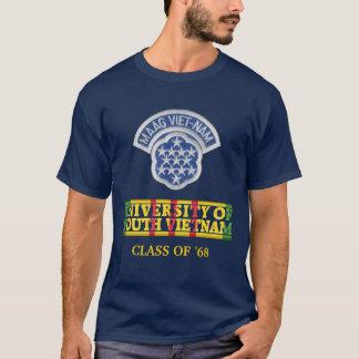 南ベトナムのワイシャツのMAAGベトナム大学 Tシャツ