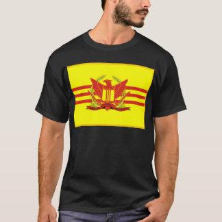 南ベトナムの軍事力の旗の共和国 Tシャツ