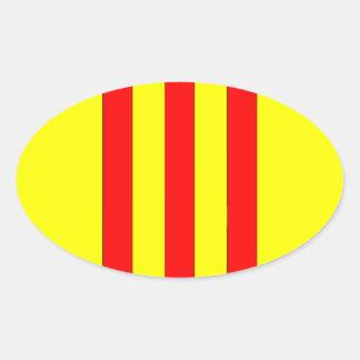 南ベトナム(1963年- 1975年)の紋章付き外衣 楕円形シール