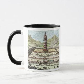 南京の磁器タワーは、「Entからの12をめっきします マグカップ