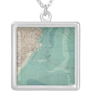 南大西洋 シルバープレートネックレス