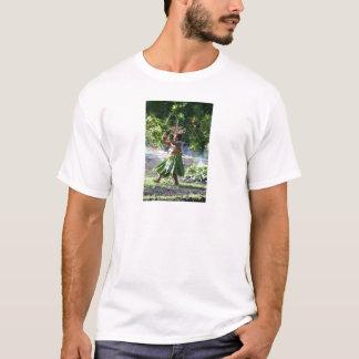 南太平洋の火歩行のダンス Tシャツ