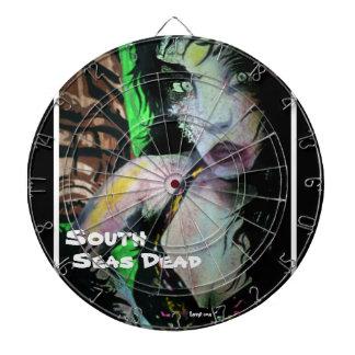 「南太平洋死んだ」の(Tiki Zom)投げ矢板 ダーツボード