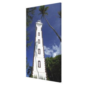 南太平洋、フランス領ポリネシア、タヒチ。 金星 キャンバスプリント
