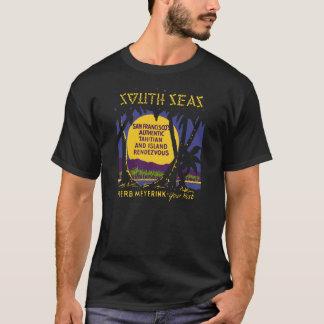 南太平洋(前部および背部) Tシャツ