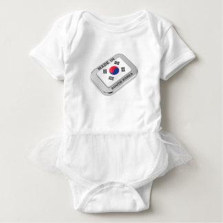 南朝鮮で作られる ベビーボディスーツ