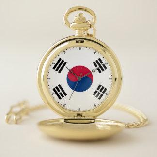 南朝鮮のが付いている愛国心が強い壊中時計 ポケットウォッチ