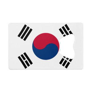南朝鮮のクレジットカードの栓抜きの旗 クレジットカード 栓抜き