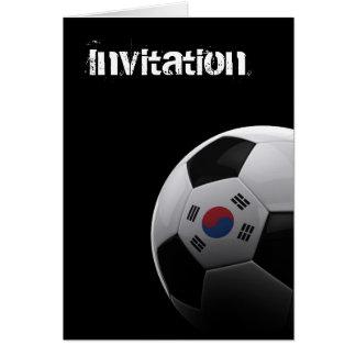 南朝鮮のサッカー カード