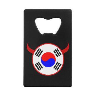 南朝鮮のフットボールの栓抜き クレジットカード ボトルオープナー