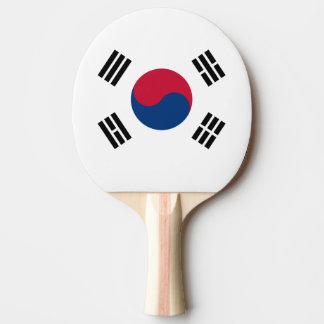 南朝鮮の卓球ラケットの旗 卓球ラケット