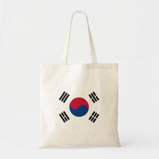 南朝鮮の国民の世界の旗 トートバッグ