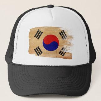 南朝鮮の旗のトラック運転手の帽子 キャップ