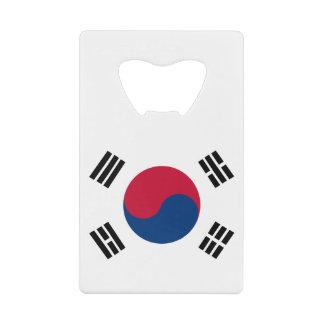 南朝鮮の旗 ウォレット ボトルオープナー