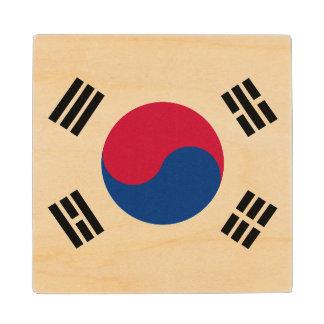 南朝鮮の旗 ウッドコースター