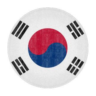南朝鮮の旗 カッティングボード