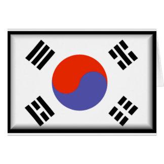 南朝鮮の旗 カード