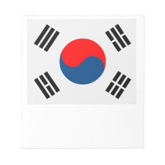 南朝鮮の旗 ノートパッド