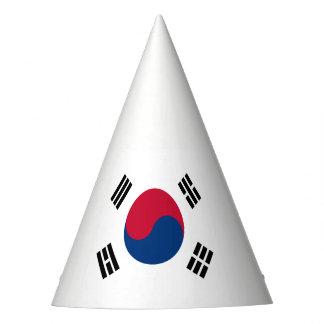 南朝鮮の旗 パーティーハット
