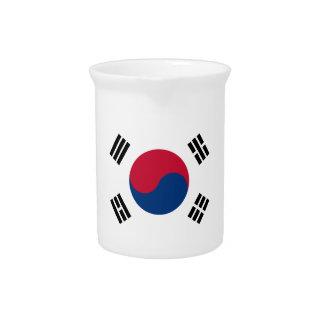南朝鮮の旗 ピッチャー