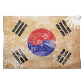 南朝鮮の旗 ランチョンマット