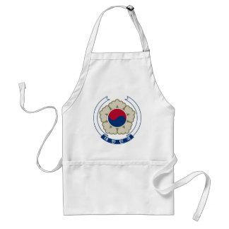 南朝鮮の紋章付き外衣 スタンダードエプロン