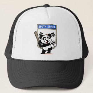 南朝鮮の野球のパンダ キャップ