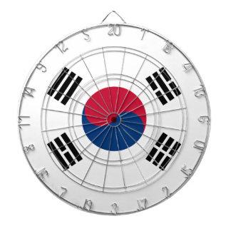 南朝鮮の金属のおりのダート盤の旗 ダーツボード