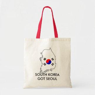 南朝鮮得られたソウルのトートバック トートバッグ